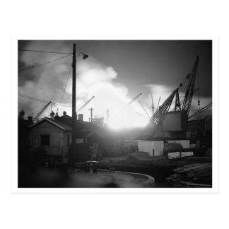 及び電撃戦ブリテンの戦い: #21サリー州の波止場D+1 ポストカード
