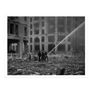 及び電撃戦ブリテンの戦い: #22消防士 ポストカード