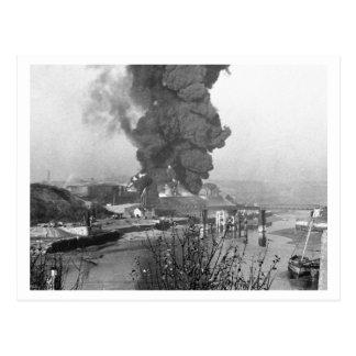 及び電撃戦ブリテンの戦い: #37プリマスの波止場 ポストカード