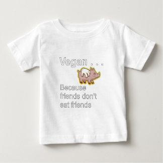 -友人が友人を食べないのでビーガン ベビーTシャツ