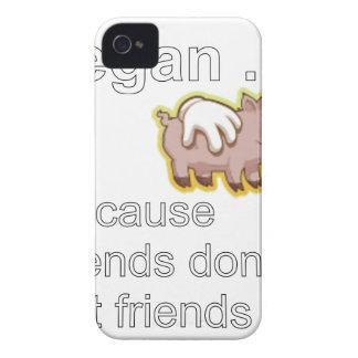 -友人が友人を食べないのでビーガン Case-Mate iPhone 4 ケース