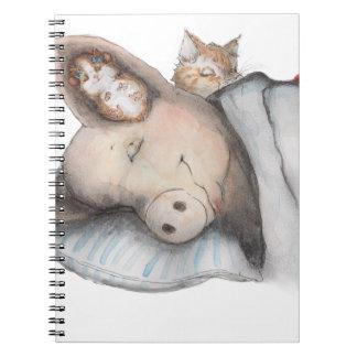 友人との睡眠 ノートブック