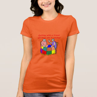 友人とキルトにすること Tシャツ