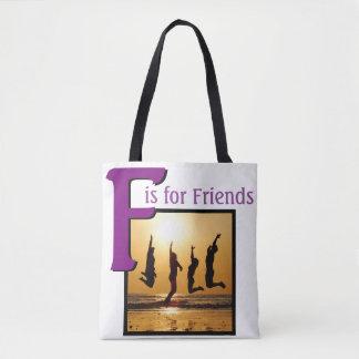 友人のためのF トートバッグ