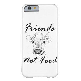 友人のない食糧ビーガンのIphoneの電話箱 Barely There iPhone 6 ケース