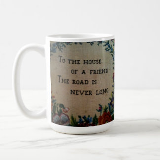友人のマグの家に コーヒーマグカップ