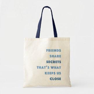 友人の共有の秘密 トートバッグ