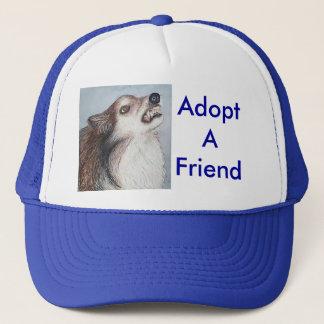 友人の帽子を採用して下さい キャップ