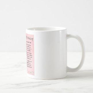 友人の詩-第18誕生日 コーヒーマグカップ