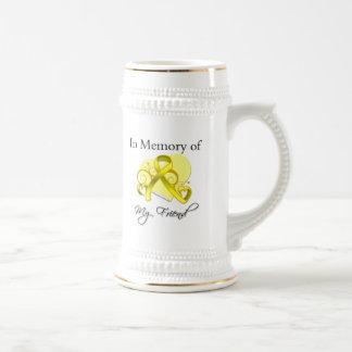 友人-軍の捧げ物を記念して… ビールジョッキ