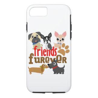 友人Fureverは子犬の後をつけます iPhone 8/7ケース