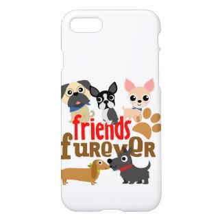 友人Fureverは子犬の後をつけます iPhone 8/7 ケース