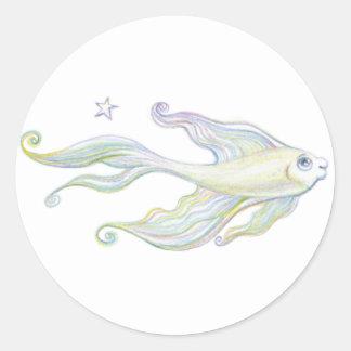 友好的な魚 ラウンドシール