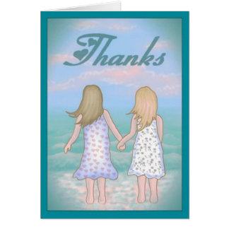 友情ありがとうカード カード