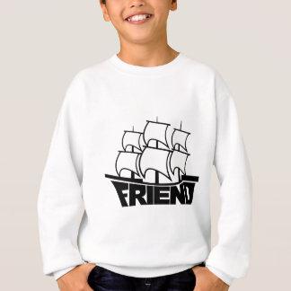 友情の友人の船 スウェットシャツ
