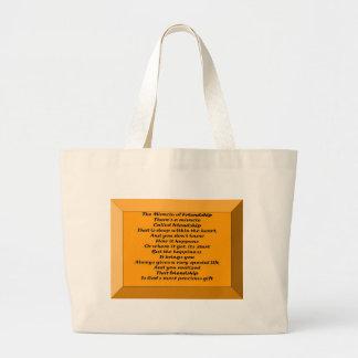 友情の奇跡 ラージトートバッグ
