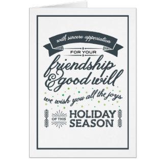 友情の灰色 カード