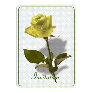 友情の黄色バラ カード