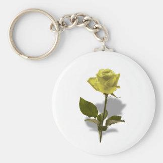友情の黄色バラ キーホルダー