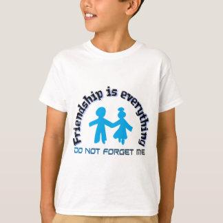 友情はすべて2つの把握手、イメージです Tシャツ