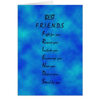 友情カード カード