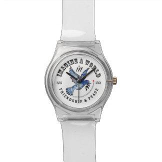 友情及び平和 腕時計