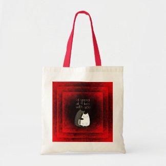 友情猫の予算のトートバック トートバッグ