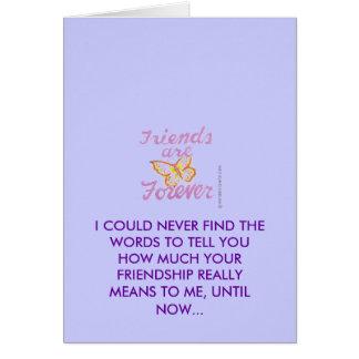 友情 カード