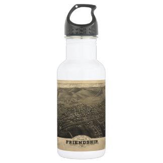 友情Allegany Coニューヨーク(1882年)の村 ウォーターボトル
