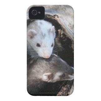 友達のブラックベリーのはっきりしたな箱 Case-Mate iPhone 4 ケース
