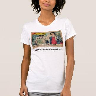 友達のポッドキャストの女性Tシャツ Tシャツ