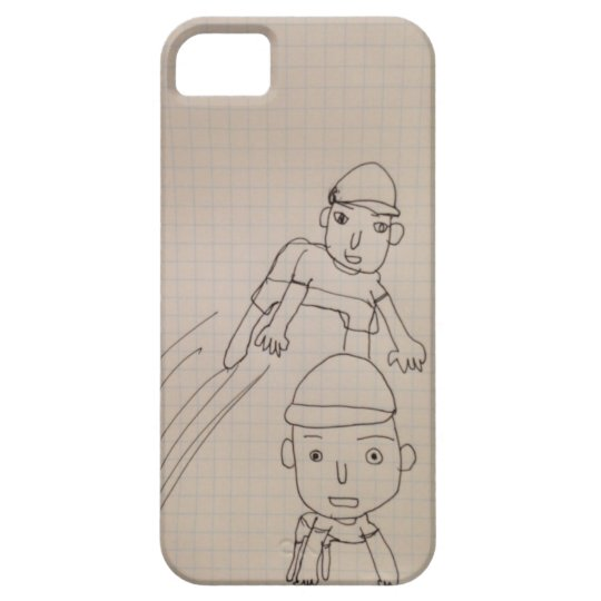 友達の絵 iPhone SE/5/5s ケース