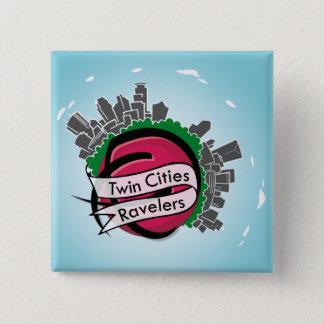 双子都市のRavelersボタン 缶バッジ