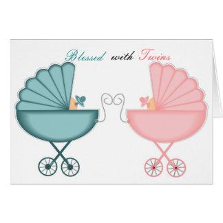 双生児と賛美される カード