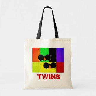 双生児のバッグ トートバッグ