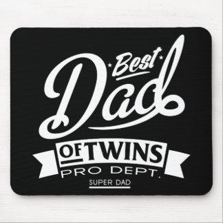 双生児のプロDept. Super Dadの最も最高のなパパ マウスパッド