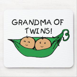 双生児のポッドの祖母 マウスパッド