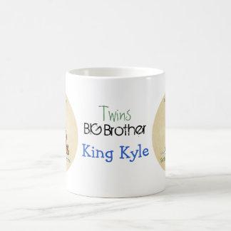 双生児の王-アフリカ系アメリカ人のお兄さんのマグ コーヒーマグカップ