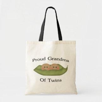 双生児の誇り高い祖母 トートバッグ