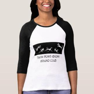 双生児はIBIZAN猟犬クラブを… -カスタマイズ長く最高にします Tシャツ