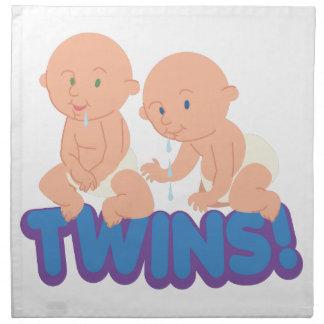 双生児! ナプキンクロス