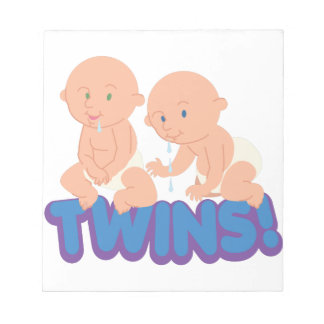 双生児! ノートパッド