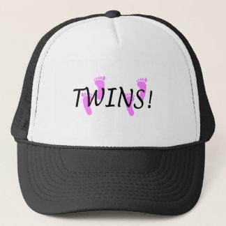 双生児(ピンクの足) キャップ