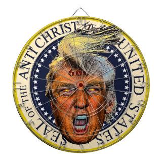 反キリストのTrump Seal反大統領 ダーツボード