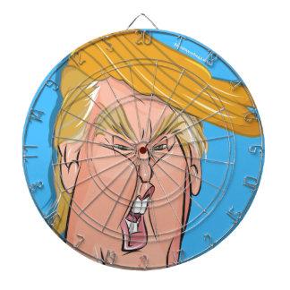 反ドナルド・トランプ-漫画のダート盤 ダーツボード