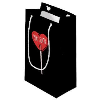 反バレンタインデー吸います スモールペーパーバッグ