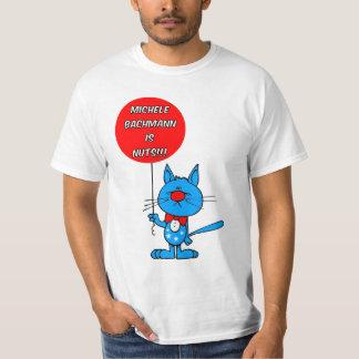 反ミケーレBachmann Tシャツ