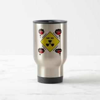 反原子力のロゴ トラベルマグ