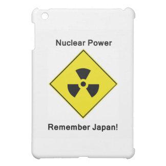 反原子力のロゴ iPad MINI CASE