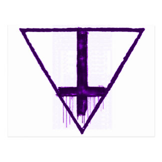 反宗教の反IlluminatiのiPhoneの場合 ポストカード